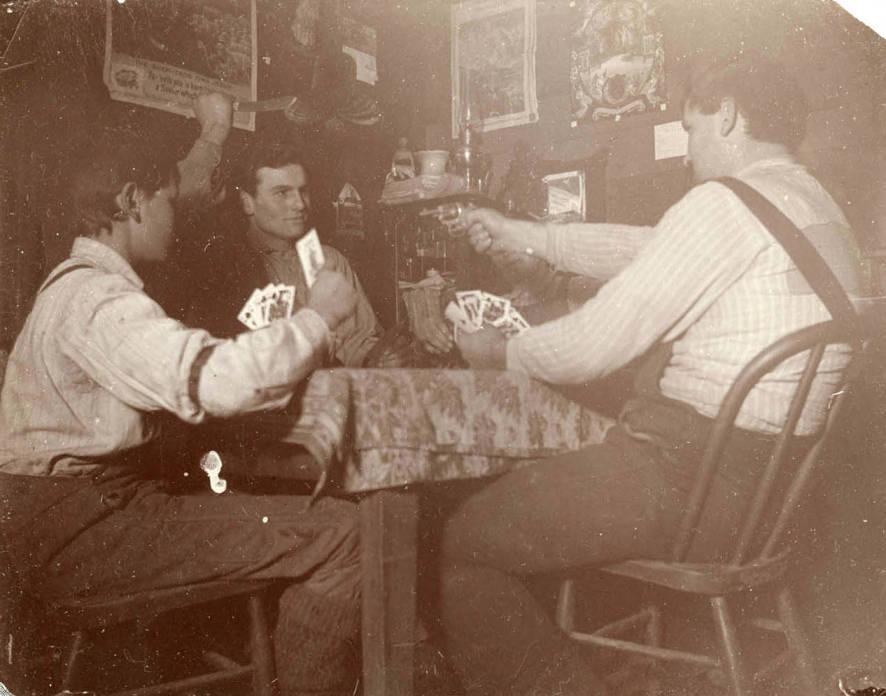 item thumbnail for Men playing cards