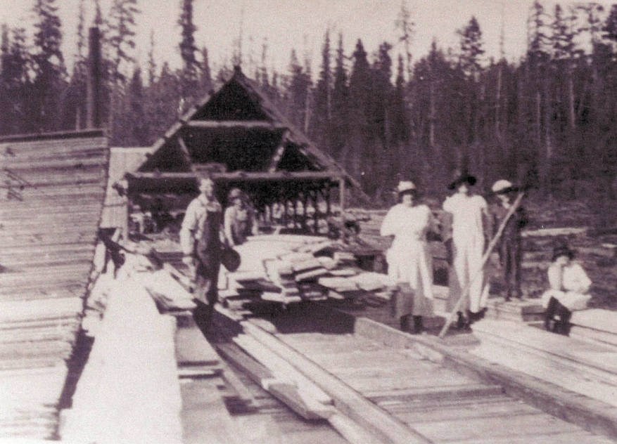 item thumbnail for Alva Strong Sawmill Middle Deep Creek