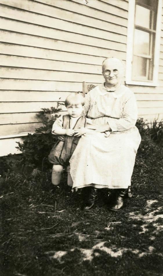 item thumbnail for Grandma Bysegger and Grandson Max Davis