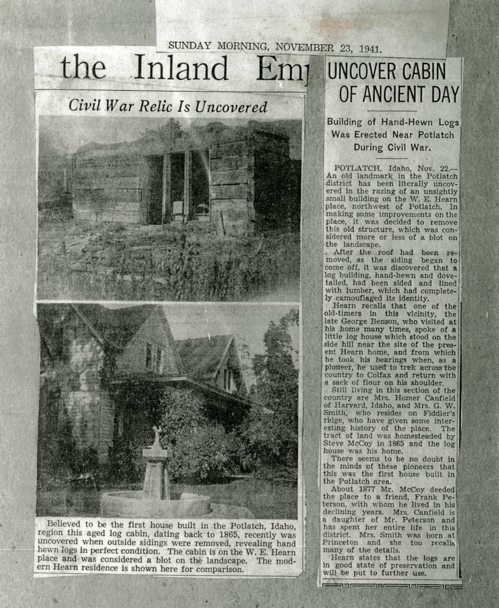 item thumbnail for Uncover Cabin of Ancient Day