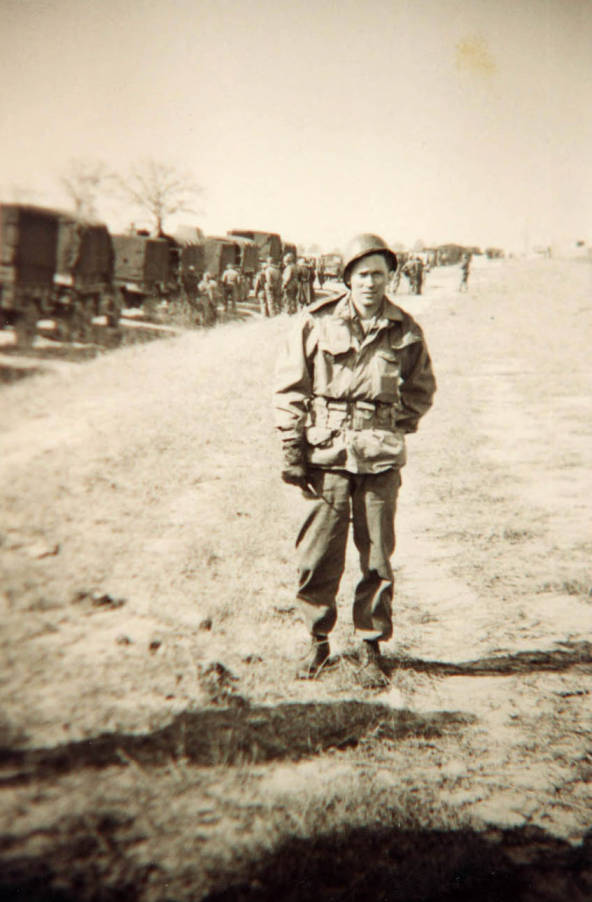 item thumbnail for Norman Soncarty in the Army