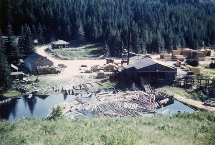 item thumbnail for Daylight view of the Carscallen Brothers' Sawmill