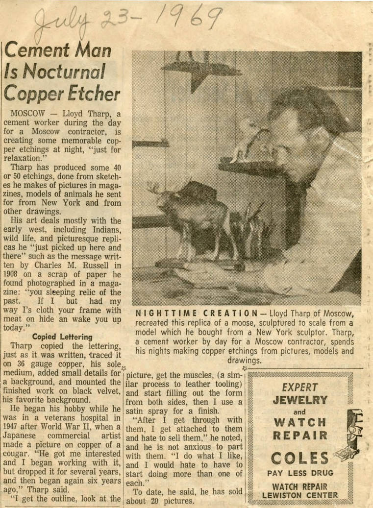 item thumbnail for Cement Man is Nocturnal Copper Etcher
