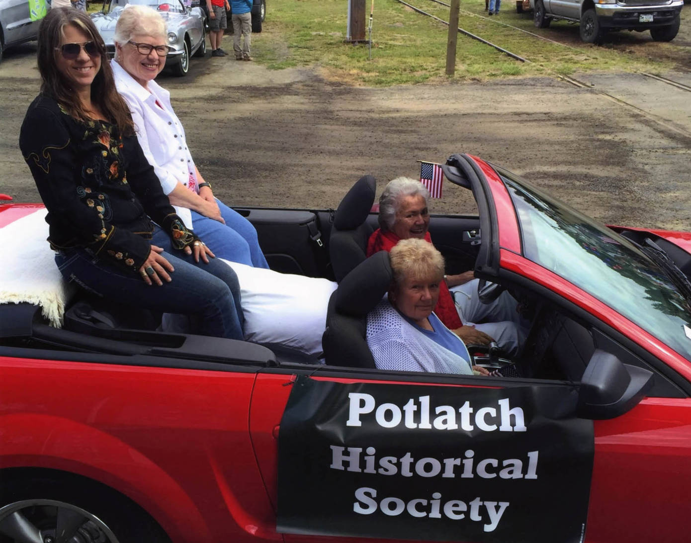 item thumbnail for Grand Marshalls during the Potlatch Days parade