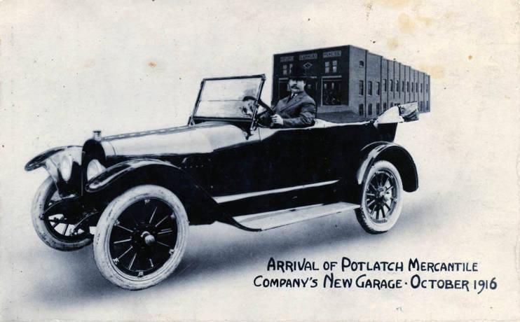 item thumbnail for Potlatch Mercantile Company postcard