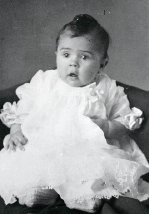 item thumbnail for Cleora Anna Nirk as an infant
