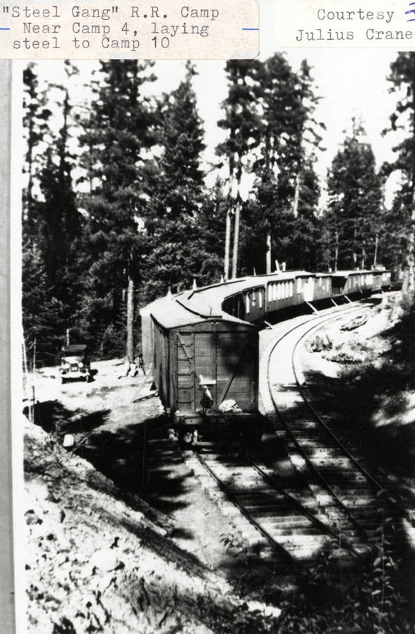 item thumbnail for Steel Gang' Railroad Camp