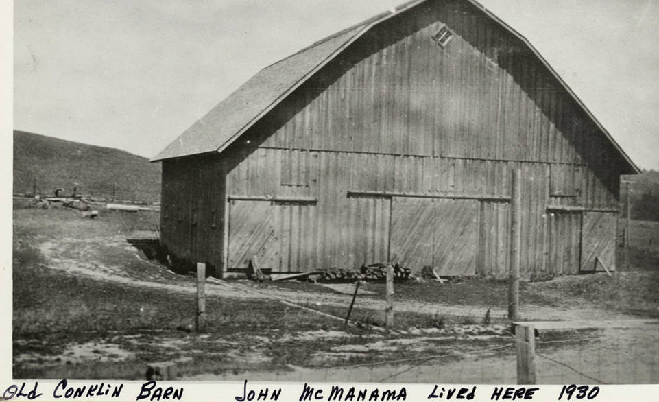 item thumbnail for Old Onklin Barn