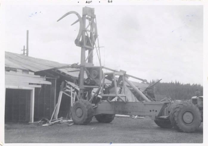 item thumbnail for Log Unloading Machine Deconstruction