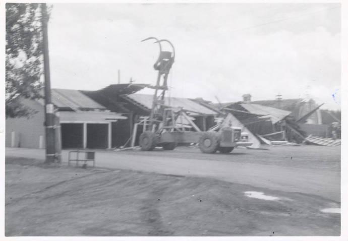 item thumbnail for Log Unloading Machine Demolition