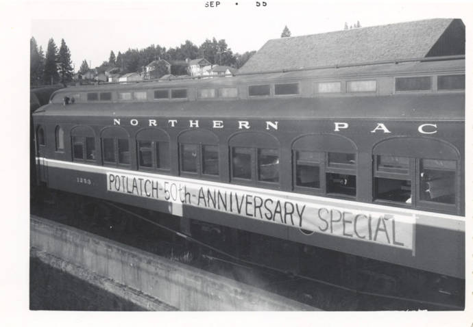 item thumbnail for Potlatch Anniversary Special Banner