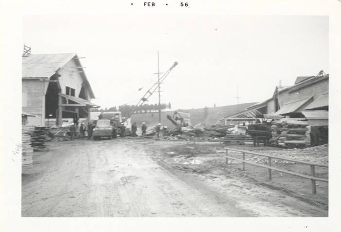 item thumbnail for Crane on Lumber Road