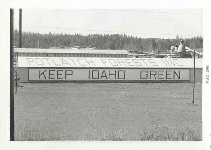 item thumbnail for Keep Idaho Green'