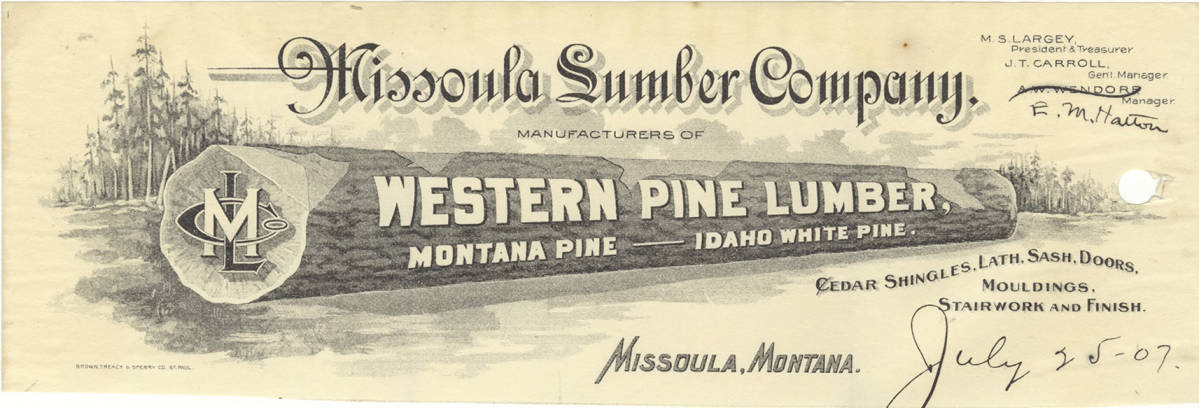 item thumbnail for Missoula Lumber Company