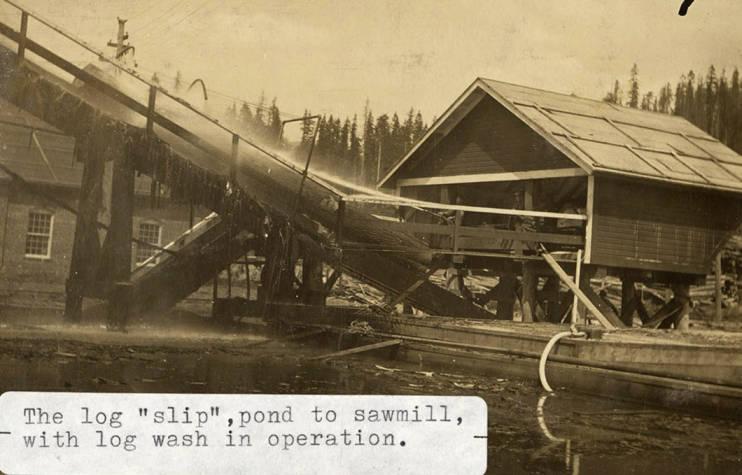 item thumbnail for Elk River Mill Log Wash