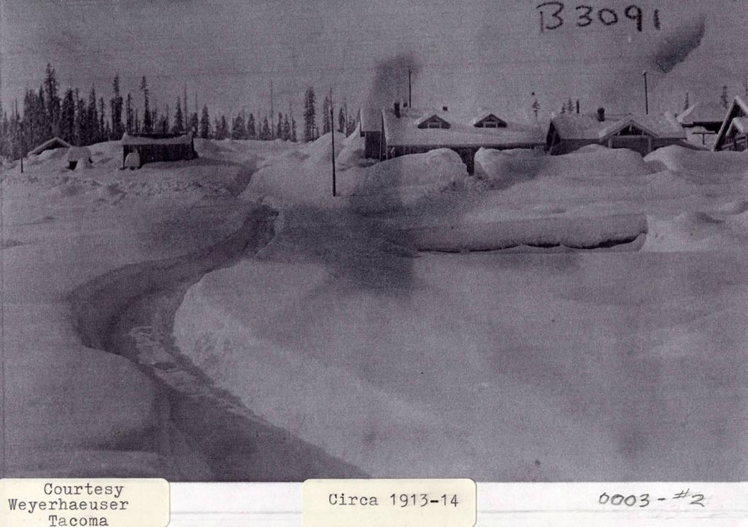 item thumbnail for Snow Covered Elk River, Idaho