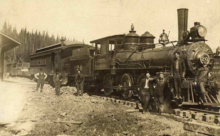 item thumbnail for Elk River Train
