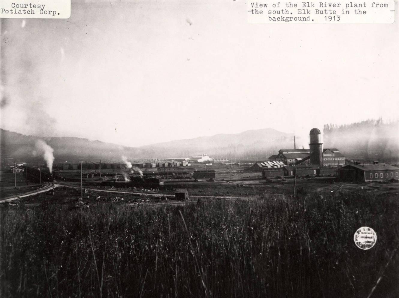 item thumbnail for Elk River Mill and Elk Butte