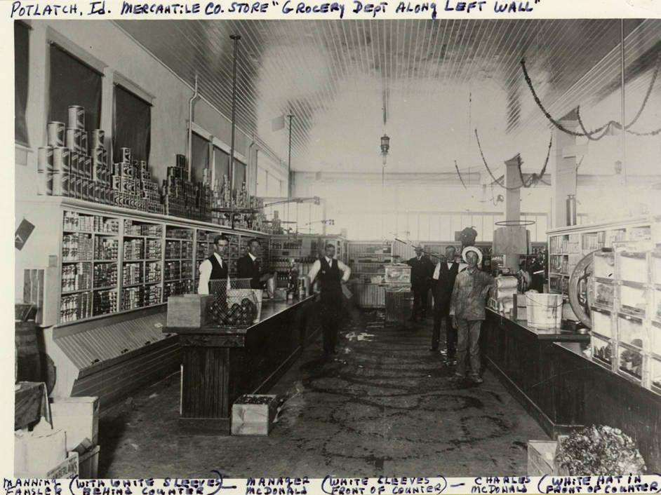 item thumbnail for Potlatch Mercantile Store