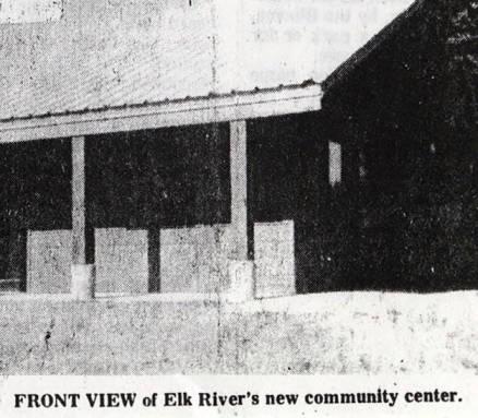 item thumbnail for Elk River Community Center Front