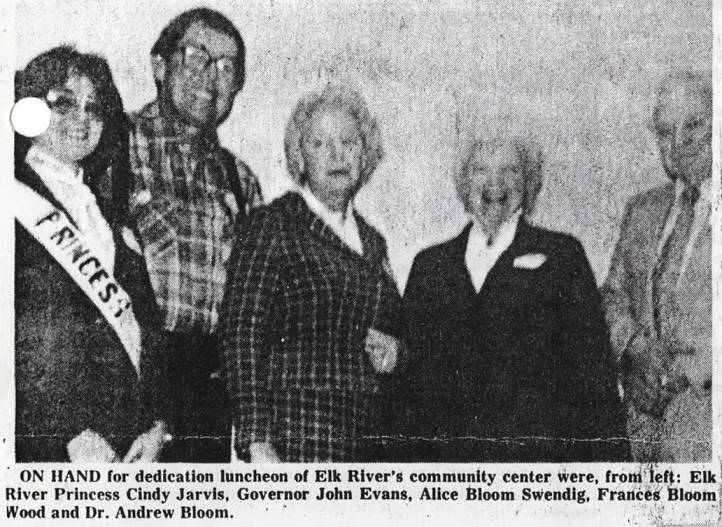 item thumbnail for Elk River Dedication Luncheon Attendees