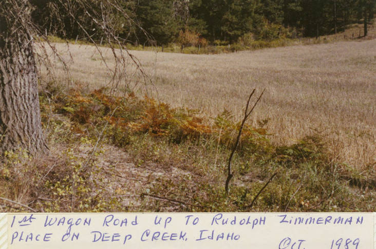 item thumbnail for 1st Wagon Road to Zimmerman Place