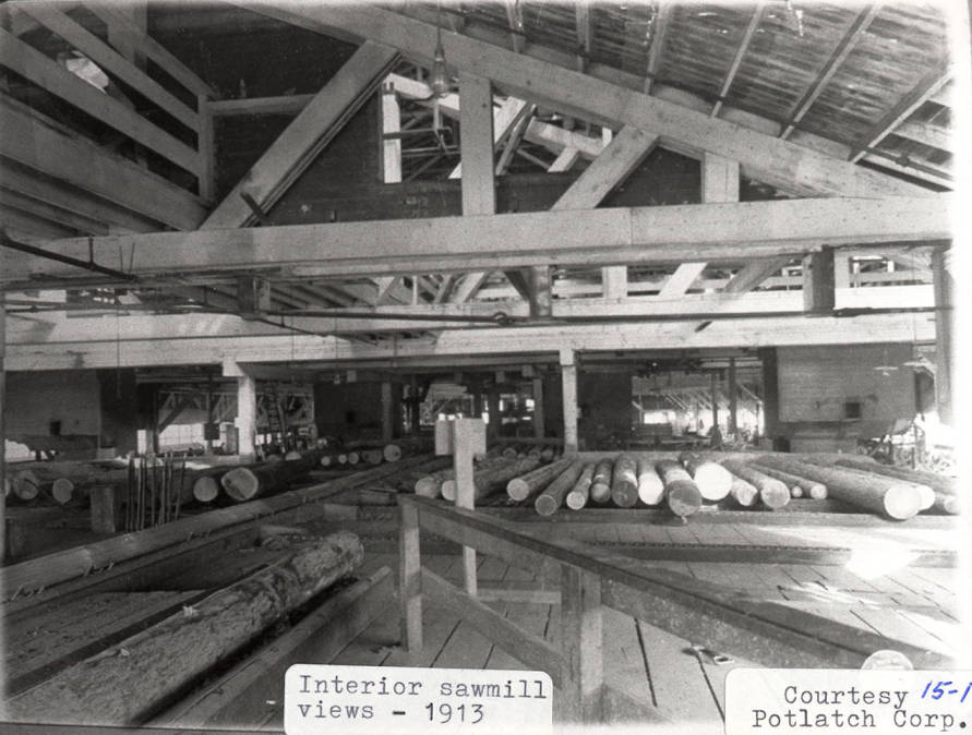 item thumbnail for Interior of Sawmill