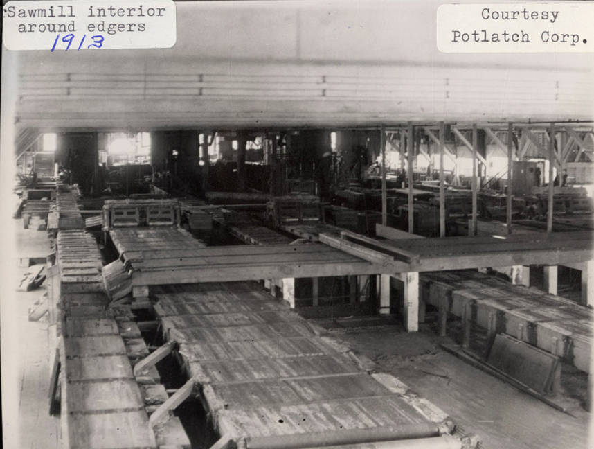 item thumbnail for Sawmill Interior Around Edgers