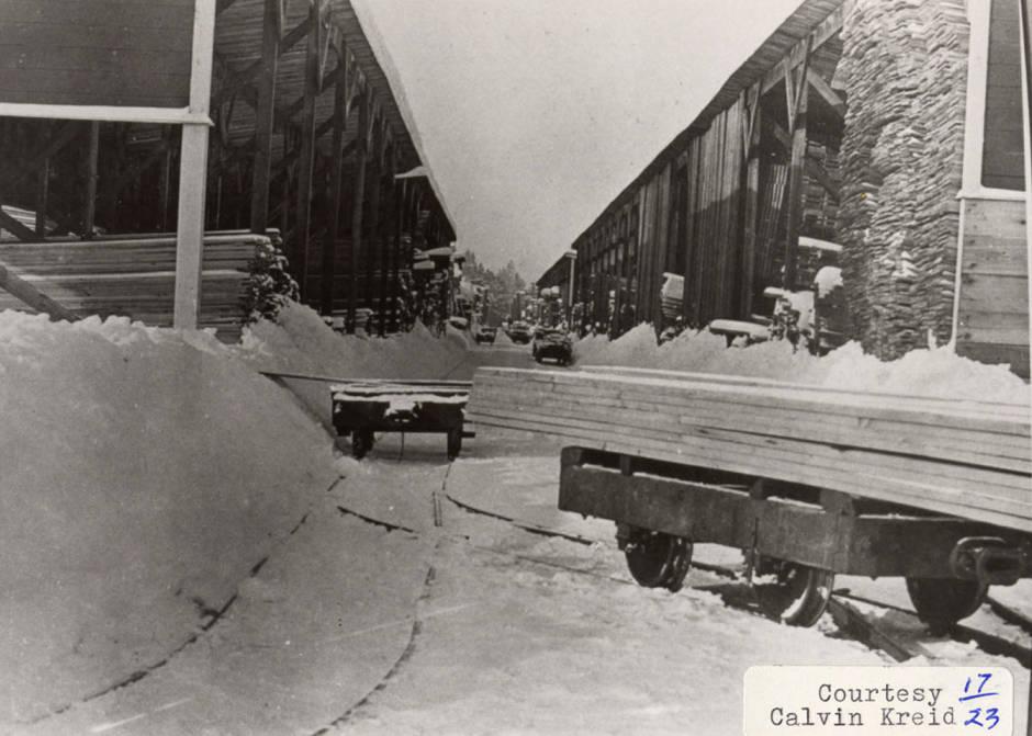 item thumbnail for Snowy Lumber Yard