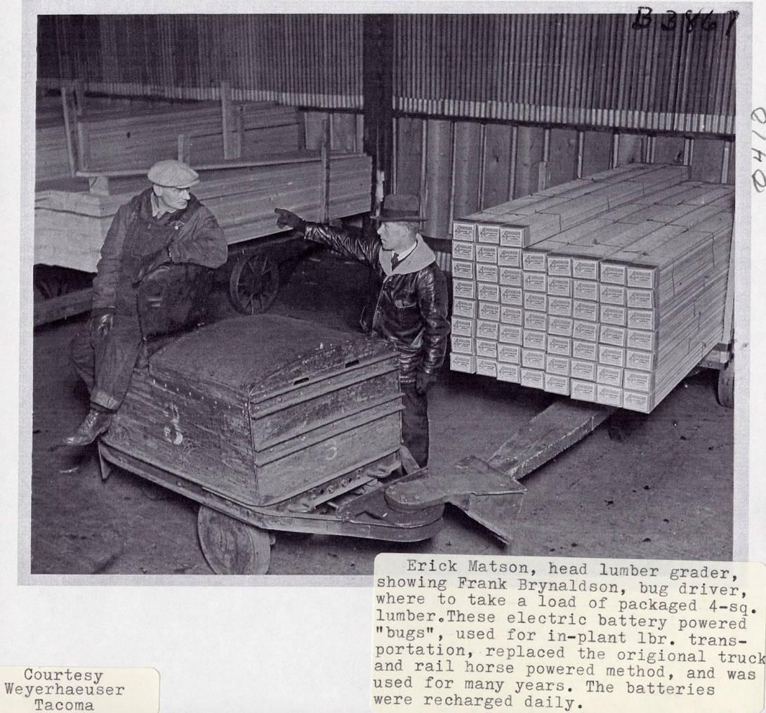 item thumbnail for Erick Matson and Frank Brynaldson on Lumber Bug