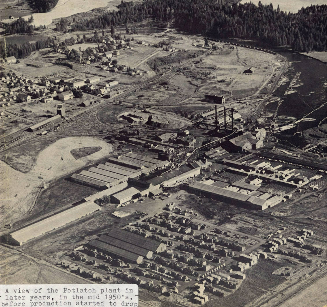 item thumbnail for View of Potlatch Plant