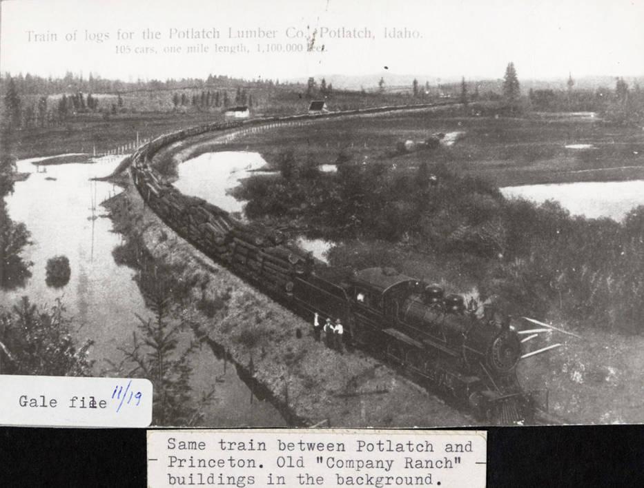 item thumbnail for Longest Logging Train