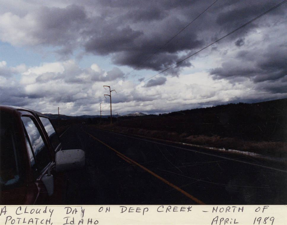 item thumbnail for Cloudy Day on Deep Creek (roadside)