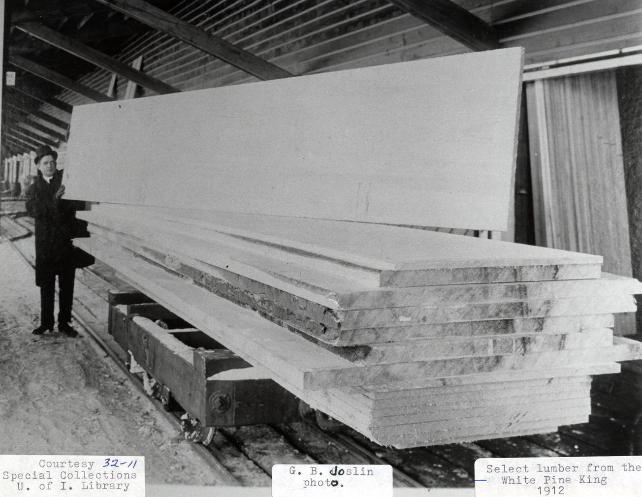item thumbnail for Lumber from the White Pine King