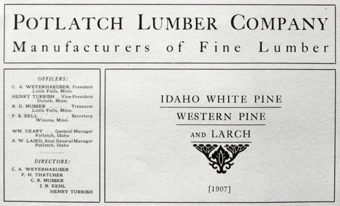 item thumbnail for Potlatch Lumber Company