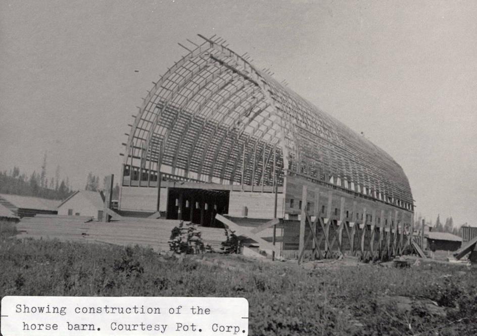 item thumbnail for Horse Barn Construction