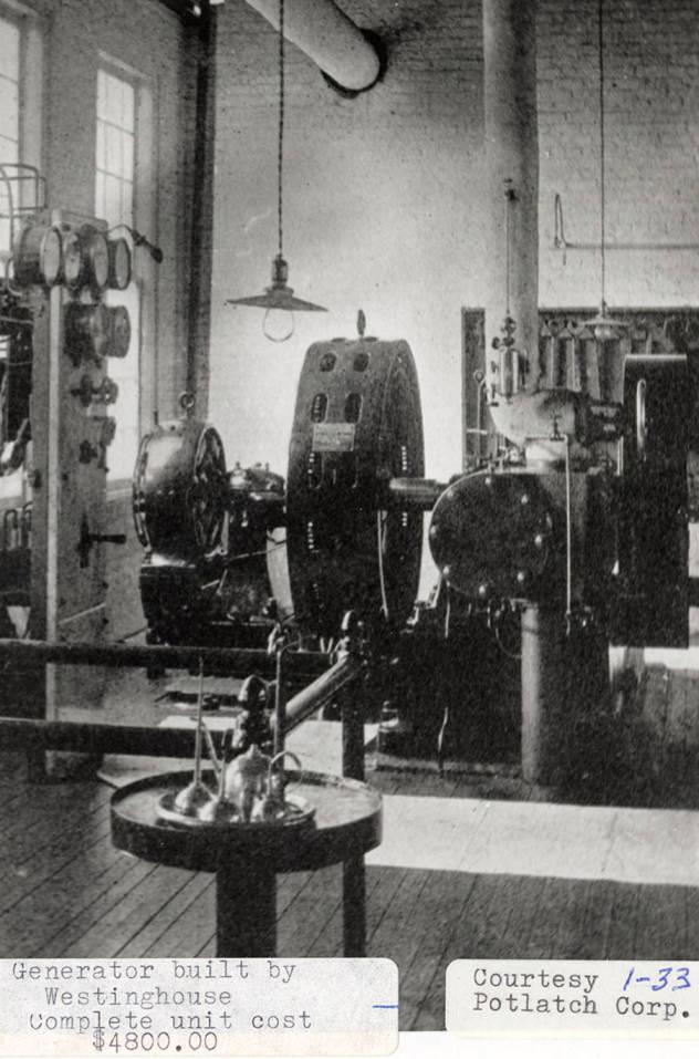 item thumbnail for Westinghouse Generator