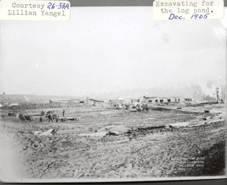 item thumbnail for Log Pond Excavation
