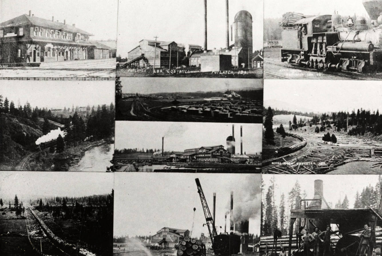 item thumbnail for Railroad Photo Collage