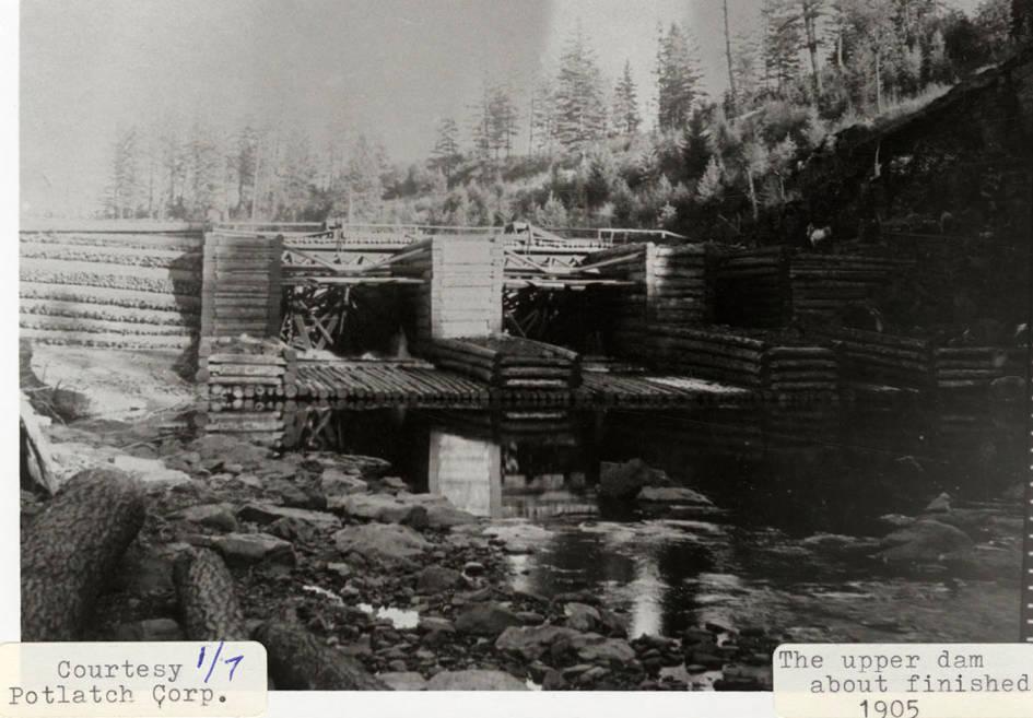 item thumbnail for Rock Creek 'Upper' Dam Construction