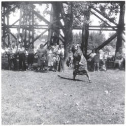 Image of Potlatch Unit picnic,1949, Sporting events [01]
