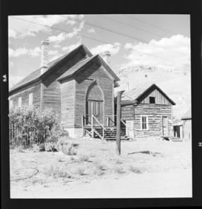 item thumbnail for Bannack (Mont.), Log buildings, 1959