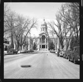 item thumbnail for Cheyenne (Wyo.), Captial building, 1961