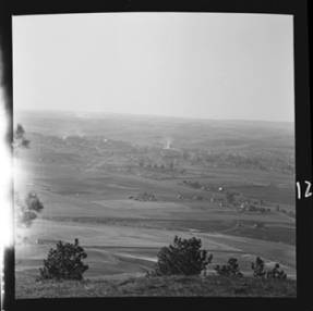 item thumbnail for Moscow (Idaho) from Tomer's Butte, 1952 [2]