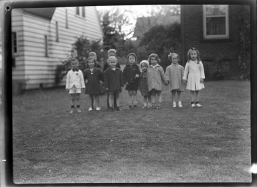 item thumbnail for Group of children, 1940 [2]