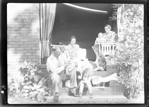 item thumbnail for Laughlin family, 1938