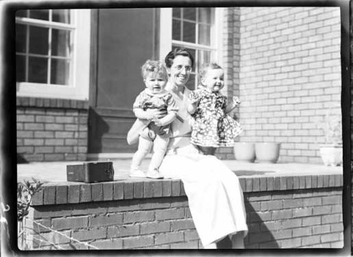 item thumbnail for John and Helen Laughlin with Marguerite Laughlin, 1939
