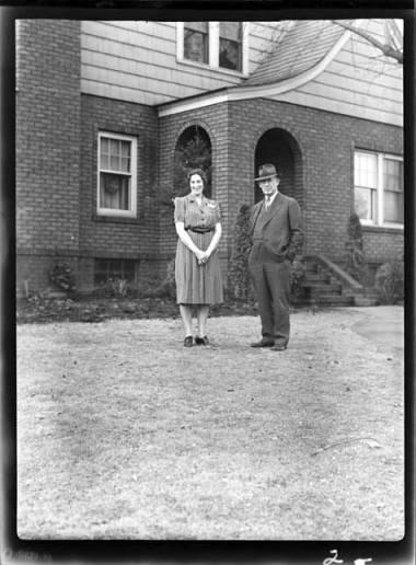 item thumbnail for Ed and Bertha, 1939 [1]