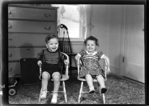 item thumbnail for John and Helen Laughlin, 1939