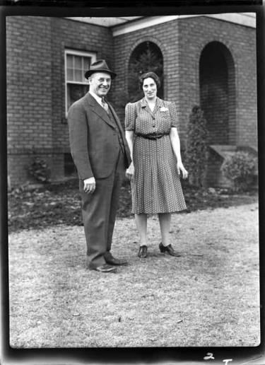 item thumbnail for Ed and Bertha, 1939 [2]